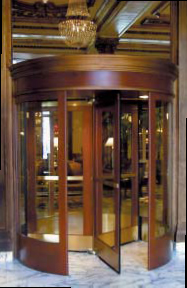 Wood Revolving Doors Automatic Door Systems